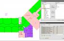 WiseImage FM - Vue Plan - Tableau des surfaces et choix des attributs
